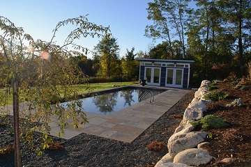 Award winning pool design - Voorheesville