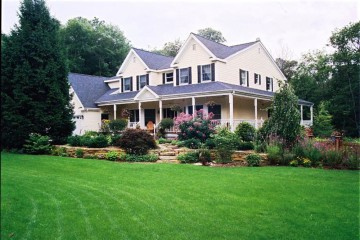 My dream house with pretty front porch