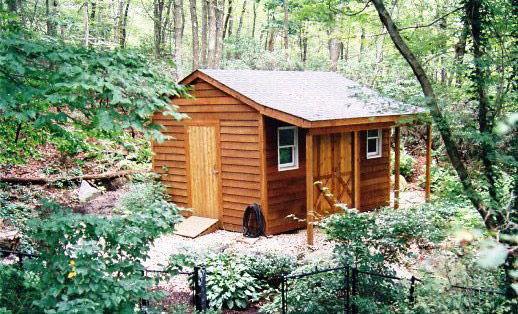 Custom shed and outbuilding